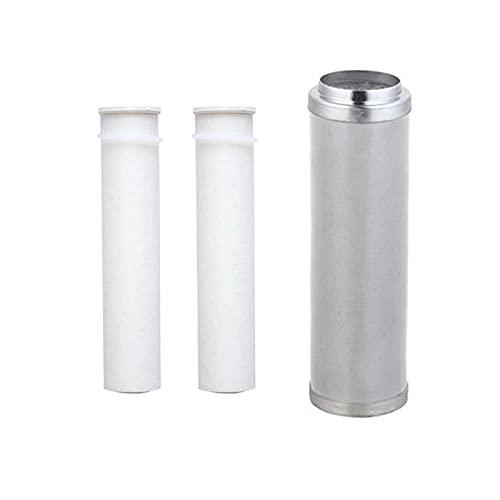 LITINGT Elemento filtrante Reemplazo de Agua destilada Prefiltro PP Sedimento y Filtro de Acero Inoxidable Filtro de Agua Sistema de ósmosis RO para filtros domésticos Descalcificación del Fregadero