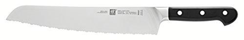 Zwilling Brotmesser ZWILLING Pro Griff: Kunststoff mit Drei-Nieten Design , Klinge: Rostfreier Spezialstahl, ZWILLING Sonderschmelze ZWILLING® Pro