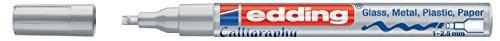 edding Glanzlack-Marker edding 753 creative, 1-2,5 mm, silber