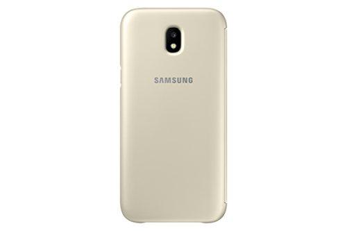 Samsung EF-WJ530CLEGWW Wallet Cover für Galaxy J5 Gold