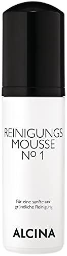 ALCINA Reinigungsmousse N°1-150 ml - Für eine sanfte und gründliche Gesichtsreinigung - Mit milden Tensidsystem und Feuchthaltekomplexen