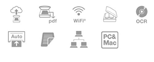 Epson WorkForce DS-1660W DIN A4 Dokumentenscanner (600dpi, USB 3.0, Duplexscan, Drei-Pass, WLAN, NFC) - 5