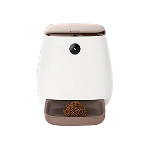 Yousiju Dispensador de Comida para Mascotas, alimentador Manual, alimentador automático de 4L para Mascotas, alimentador de Mascotas para Perros, Gatos, Comidas de alimentación automática