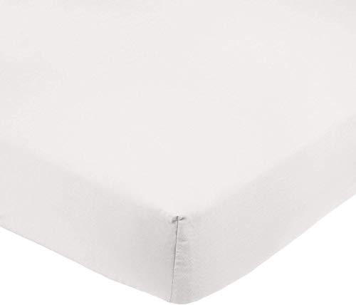 Amazon Basics AB Microfiber, Microfaser, Creme, 200x30cm
