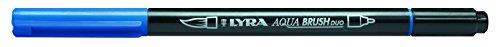 LYRA Aqua Brush Duo Pincel, rotuladores, Azul prusiano, Preußischblau
