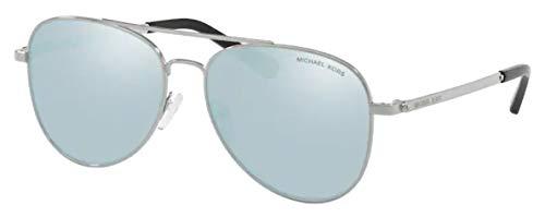 Michael Kors 0MK1045 Gafas de sol, Silver, 56 para Mujer