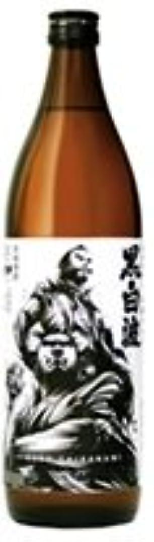 ドラッグアグネスグレイ学んだ黒白波 維新ラベル 芋 25度 [瓶] 900ml x 6本[ケース販売] [薩摩酒造/芋焼酎/鹿児島県]
