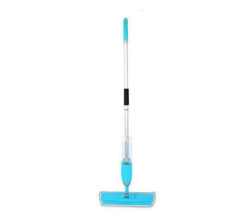 Spray Mop Microfiber Flat Mop Cleaner Household Floor Kitchen Bath Broom Sweeper