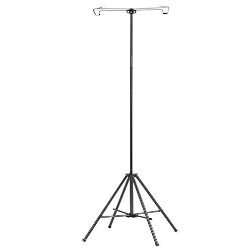 Medical Liquid Hook Rack, Telescope, Iv Holder, Portable, Adjustable height Medical Tripod, Foldable Iv Holder, Infusion Stretcher For Home/Hospital/Clinic