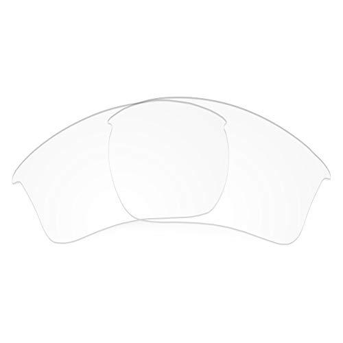Revant REVANT Ersatzgläser Kompatibel mit Oakley Half Jacket 2.0 XL, Nichtpolarisiert, Kristallklar
