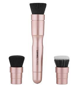 blendSMART1 Everyday Electric Makeup Brush Set (Rose Gold)