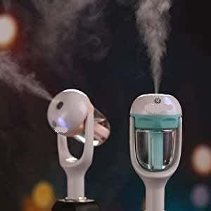 PARAM Club Car Humidifier Fast Dual USB Port for Mobile Devices 180 Degree Rotatable Head Best Humidifier for Car
