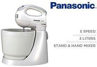 Panasonic 5 Speed, 3 Liters Stand & Hand Mixer (Model: MK-GB1)