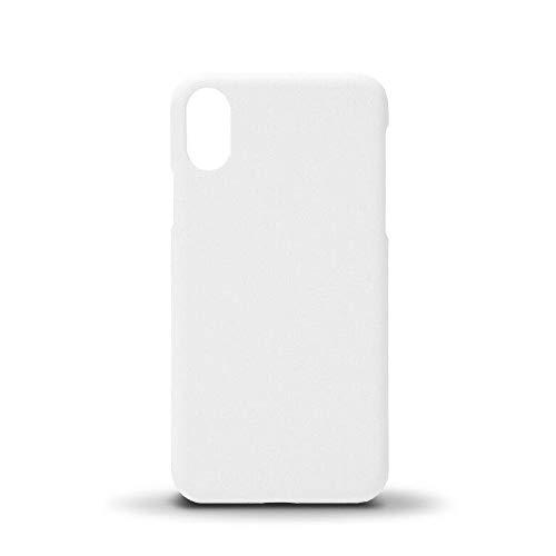 Signzworld Vuoto Bianco iPhone x Custodia Completo Copertura 3D Sublimazione Sottovuoto Forno Personalizzato Stampa - Bianco, White x 1
