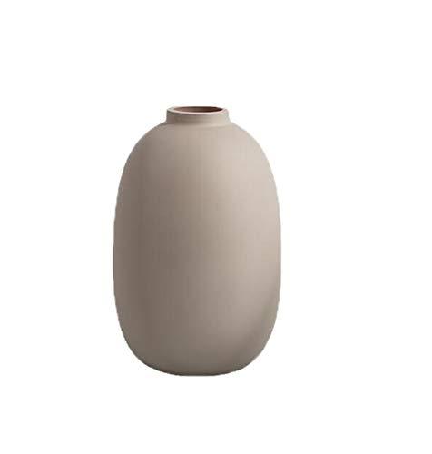 Tuker Keramikvase, Vintage, nordischer Stil, Vase, Wohnzimmer, Veranda, Regal, Dekoration, Heimdekoration, Vase, Einrichtungsgegenstände (M)