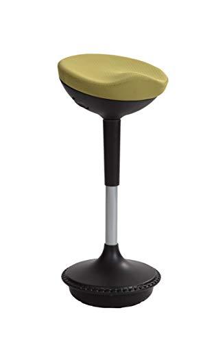 ALBA MHSTOOLY V - Sgabello ergonomico a dondolo, colore: Verde/Nero