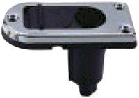 Perko 1047P00DP 2-Pin Pole Light Base - Rectangular