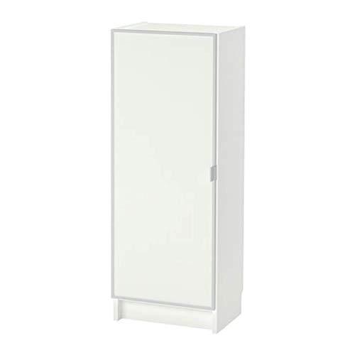 Ikea Billy/Morliden Boekenkast met glazen deur wit glas 392.873.79 Grootte 15 3/4x41 3/4x11 3/4