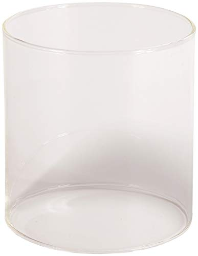 STANSPORT - Glass Lantern Replacement Globe for Single and Double Mantle Lanterns (Clear)