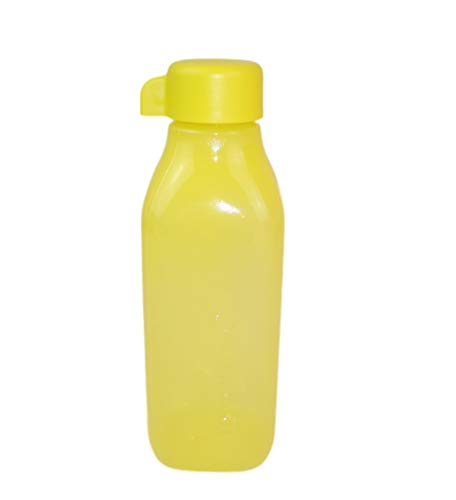 Tupperware EcoEasy Quader 500 ml geel geel drinkfles eco-fles Eco Easy