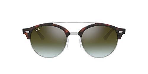 Ray-Ban 0rb4346 Gafas de sol, Shiny Red Havana, 51 para Hombre