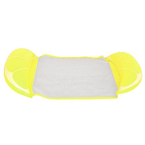 Grust Floating Row 4 en 1 - Silla flotante para piscina, tumbona hinchable para piscina, ligera, para adultos y fiestas en la piscina, 140 x 60 cm