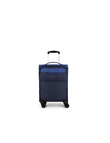 GABOL - Maleta Cabina 4 Ruedas Gabol Cloud Azul, color Azul