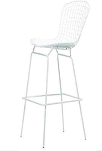QTQZDD barkruk, kruk, stoel, draad, stoelleuning, hoge kruk, eenvoudig ijzer, industriële windkoffiestoel, creatief, metaal 1 1