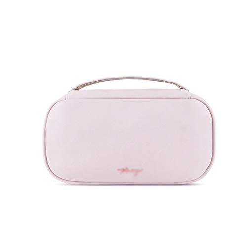 Kiki Femmes Sac cosmétique for Le Maquillage Pouch Femme Portable Beauté Organisateur Voyage Toiletry Case Ladies Big Bag Maquillage (Color : Pink)