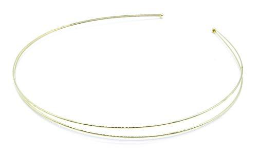 irresistible1 Haarreif/Diadem aus Metall mit glänzendem Goldton