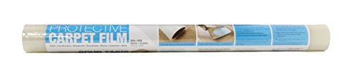 Trimaco 62450 Easy Mask Protective Film for Carpets, 2 mil, 24-inch x 50-feet, 50' (2mil)