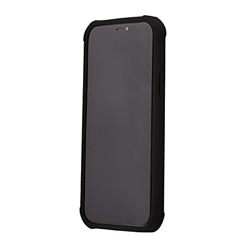 Yxpsmmysy iPhone 12 / iPhone 12 Pro Shock and Protect iPhone - Black Transparente(iPhone 12/12 Pro,Negro)