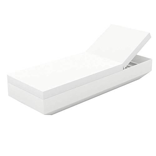 Vondom Vela chaise longue blanche