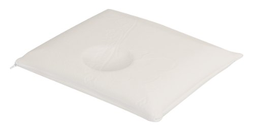 Julius Zöllner 4330110001 Dryfeel Taie d'oreiller avec housse Baby Fresh & Dry pour bébé avec motif Taille 40 x 60 cm Blanc