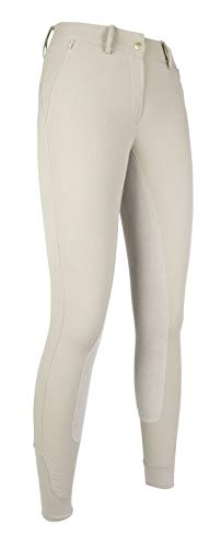 HKM SPORTS EQUIPMENT Lauria Garrelli Reithose -Santa Rosa stripe- 3/4 Alos LIMITED, beige, 34