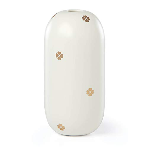 Kate Spade New York White Bud Vase Spade Street Keepsake Box, 0.50 LB