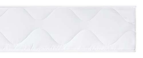 sleepling 190123 Matratze Rollmatratze Basic 40, Bezug 95 Grad waschbar, Ökotex 100, Härtegrad 2 90 x 200 x 15 cm, weiß