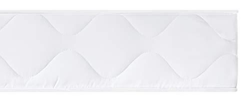sleepling 190125 Matratze Rollmatratze Basic 40, Bezug 95 Grad waschbar, Ökotex 100, Härtegrad 2 140 x 200 x 15 cm, weiß