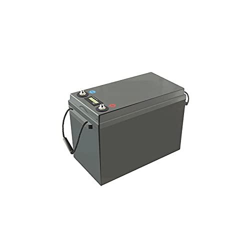 LalaHook 3000 ciclos para autocaravanas, Carrito de Golf, Todoterreno, Fuera de la Red, Viento Solar, 12 V, 300 Ah, LiFePO, 4 baterías, baterías de Litio BMS