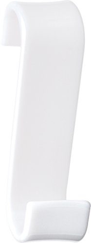 Gedy 20250200900 Percha Radiador, Blanco, 6.7x3.2x11.7 cm