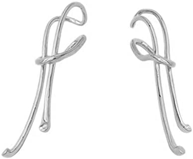 HuTianGe European and American cold wind long earrings for women girl simple and elegant earrings fashion personalized jewelry