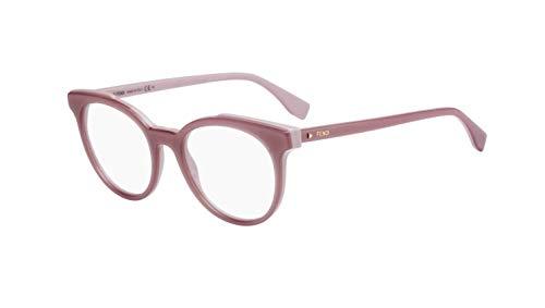 FENDI FF 0249 35J 50 Gafas de sol, Rosa (Pink), Mujer