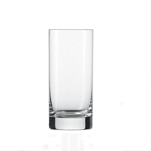 Vaso para beber, jugo de leche, vaso de vino extranjero y vaso de whisky, vidrio transparente sin plomo, un juego de 2 largos A1