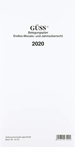 GÜSS-Endlos-Belegungsplan