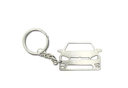 Llavero de metal con forma de coche, accesorios de tuning para coche, compatible con VW Golf 7
