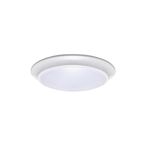 LIT-PaTH LED Flush Mount Ceiling Lighting Fixture, 7 Inch Dimmable 11.5W 900 Lumen, Aluminum Housing Plus PC Cover, ETL and Damp Location Rated (4000K)