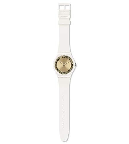 Swatch Reloj Analógico para Mujer de Cuarzo con Correa en Silicona SUOW168