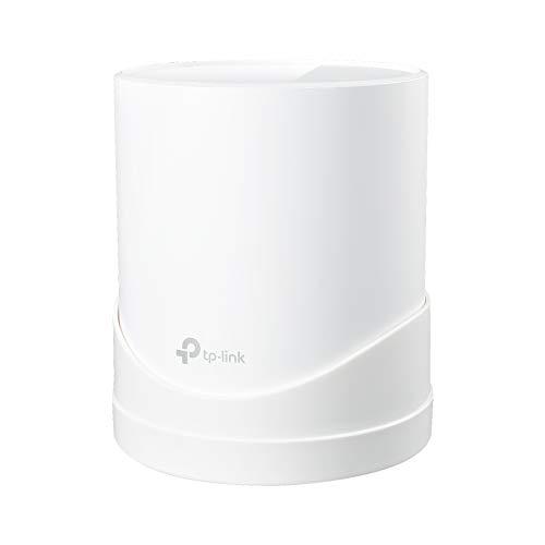 STANSTAR Wandhalterung für TP-Link Deco X20, Deco X60 Whole Home Mesh WiFi System, stabile Halterung für Deco X20, X60, platzsparende TP-Link Router, Wandhalterung, Plug in ohne Kabelsalat (1 Stück)
