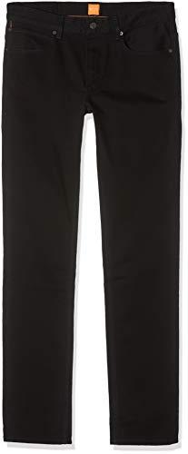 BOSS Herren Orange63 Slim Jeans, Schwarz (Black 002), W30/L34