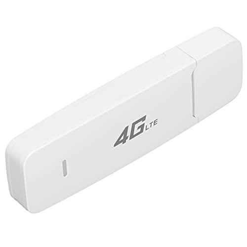 SHYEKYO Enrutador WiFi Móvil, Hotspot WiFi 4G De Banda Ancha Móvil USB Estable Versión Global 10 Usuarios para Exteriores para Computadoras(Default)